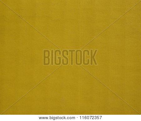Yellow Corrugated Cardboard Background