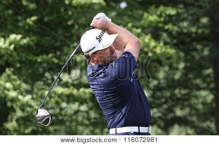 Graheme Mac Dowell At The Golf French Open 2015