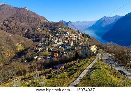 Monte Bre, Near Lugano