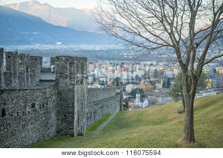 Montebello Castle, In Bellinzona
