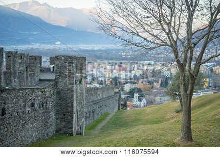 Montebello Castle, In Bellinzona