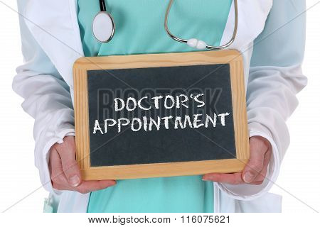 Doctor's Appointment Medical Doctor Medicine Ill Illness Healthy Health