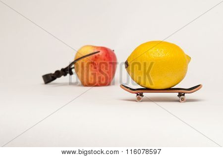 Skating Lemon