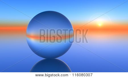 Glass Sphere Horizon