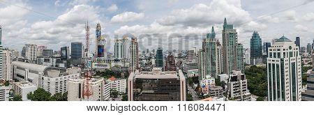Panorama View Over Bangkok