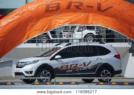 Private Car, Honda Brv.