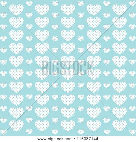 Vintage Love Heart Background