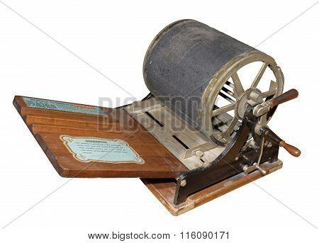 Mimeograph- Screen Printing Machine. 1909