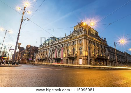 Historic Poznanski Palace, Lodz, Poland
