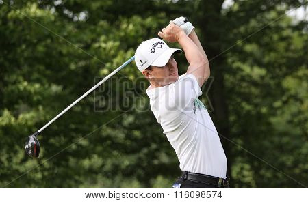 Chris Paisleyl At The Golf French Open 2015