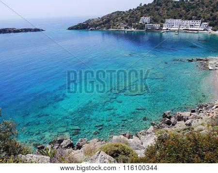 Crystal Clear Sea Near Loutro