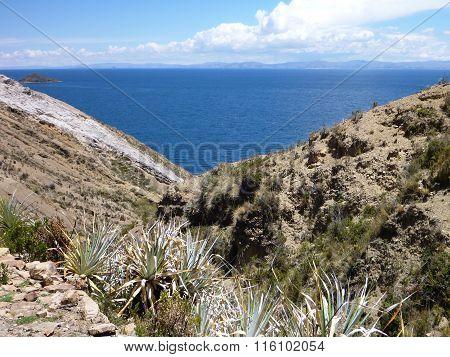 Isla Del Sol At Lago Titicaca