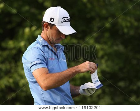 Gary Stall At The Golf French Open 2015