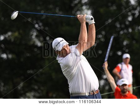 Anthony Wall At The Golf French Open 2015