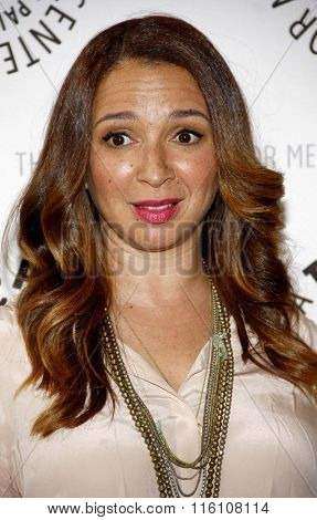 Maya Rudolph at the Paley Center For Media Presents An Evening With