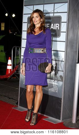 WESTWOOD, CALIFORNIA - November 30, 2009. Cindy Crawford at the Los Angeles premiere of