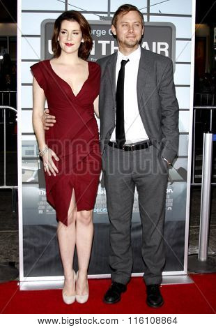 Melanie Lynskey and Jimmi Simpson at the Los Angeles Premiere of
