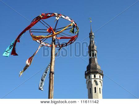 Tallinn - Tower and Decoration