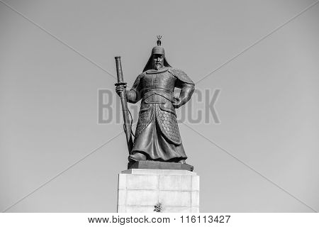 The Statue Of Yi Sun-shin