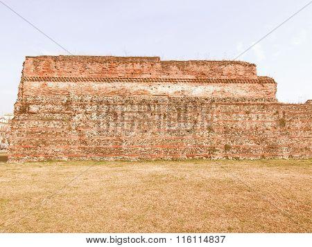 Roman Wall, Turin Vintage