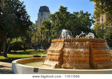 Downtown Park in St. Petersburg