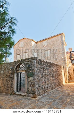 Archaeological Museum In Old Town Of Budva
