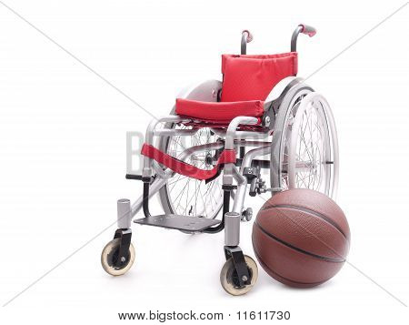 Wheelchair And Basketball