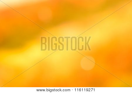 Orange and Gold abstract background ( Soft blue style )
