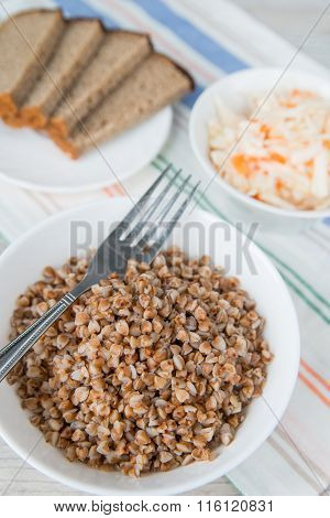 Dinner With The Buckwheat Cereals