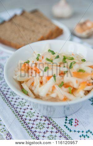 Plate Of The Sauerkraut