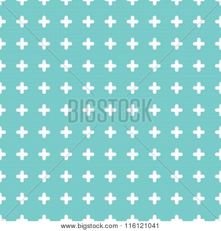 Cute colorful cross seamless pattern background.