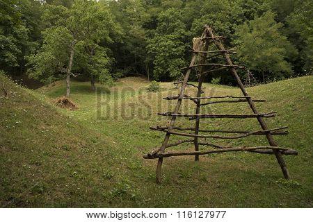 Empty haystack