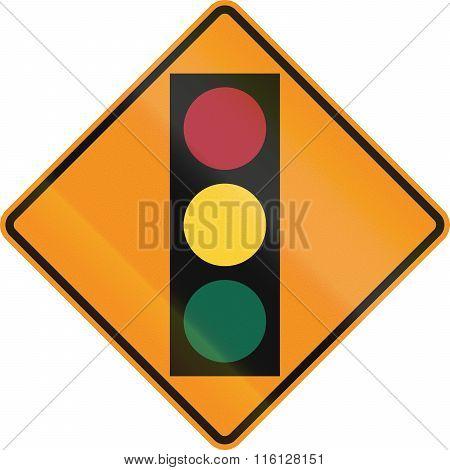 Temporary Road Control Version - Traffic Lights