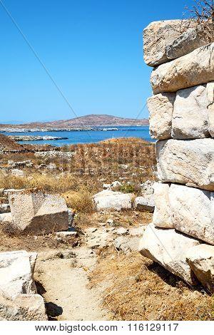 Bush   In Greece The Historycal   Site