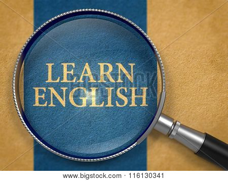 Learn English through Magnifying Glass.