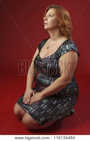 Kneeling Woman