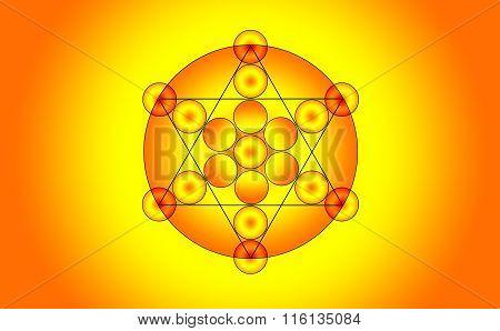 Illustration Of A Pentagram Symbol