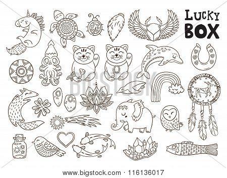 Good Luck symbols