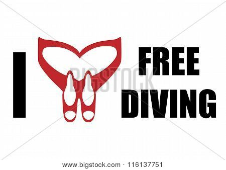 i love freediving