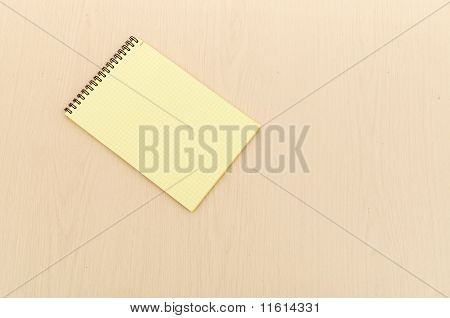 yellow note book