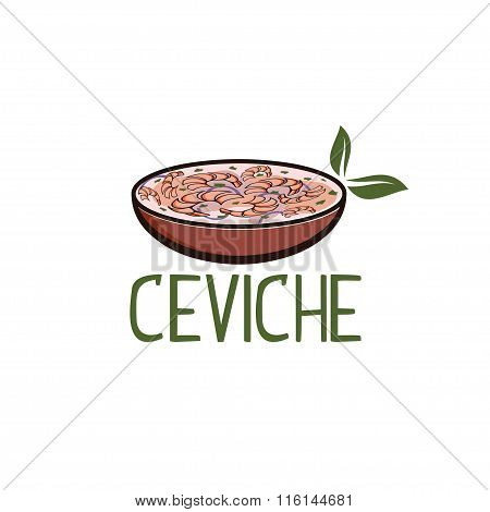 Traditional Ceviche,soup Of Shrimps In South America,seafood