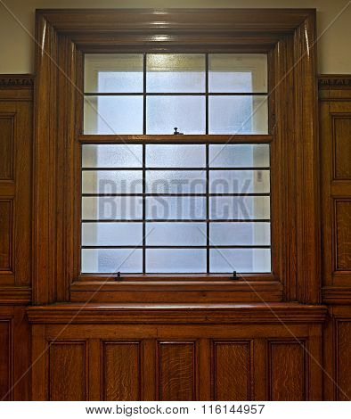 Beautiful Solid Oak Sliding Sash Window