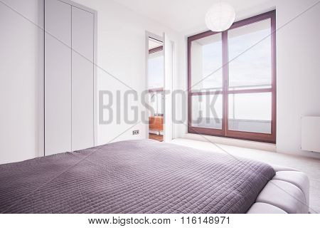 Sunny And White Bedroom