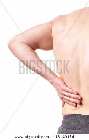 Close-up Of Back Pain
