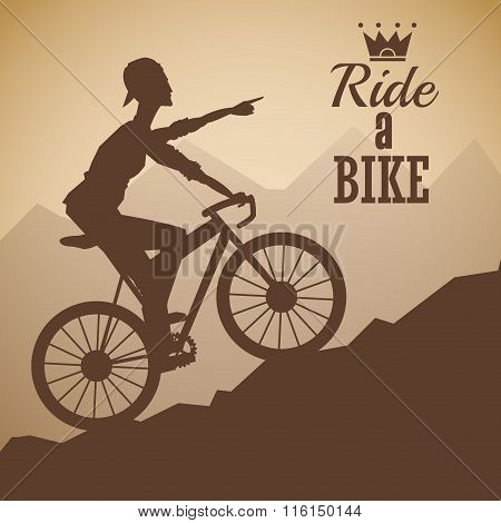 Ride a bike design