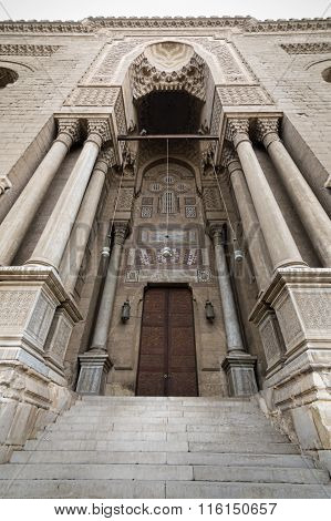Entrance Leading To A Historic Mosque, Cairo, Egypt