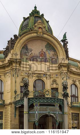 Municipal House, Prague