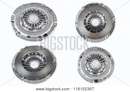 Clutch cover on a white background