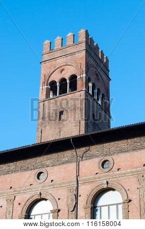 Piazza Maggiore In Bologna - Emilia Romagna - Italy