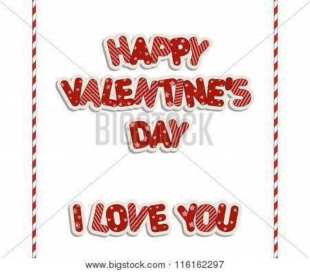 Valentine's Day Inscriptions.